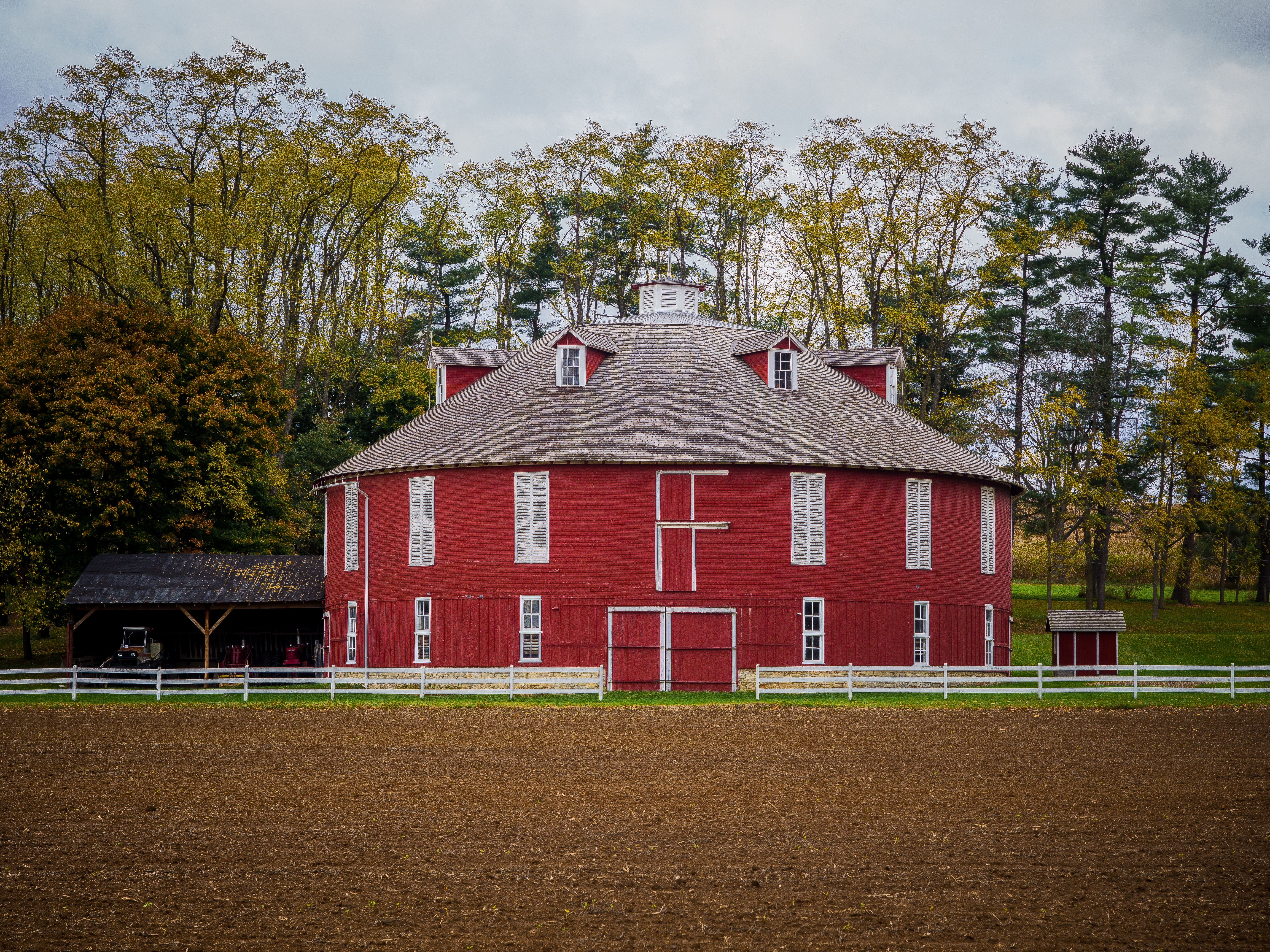 1910 Round Barn State College, PA