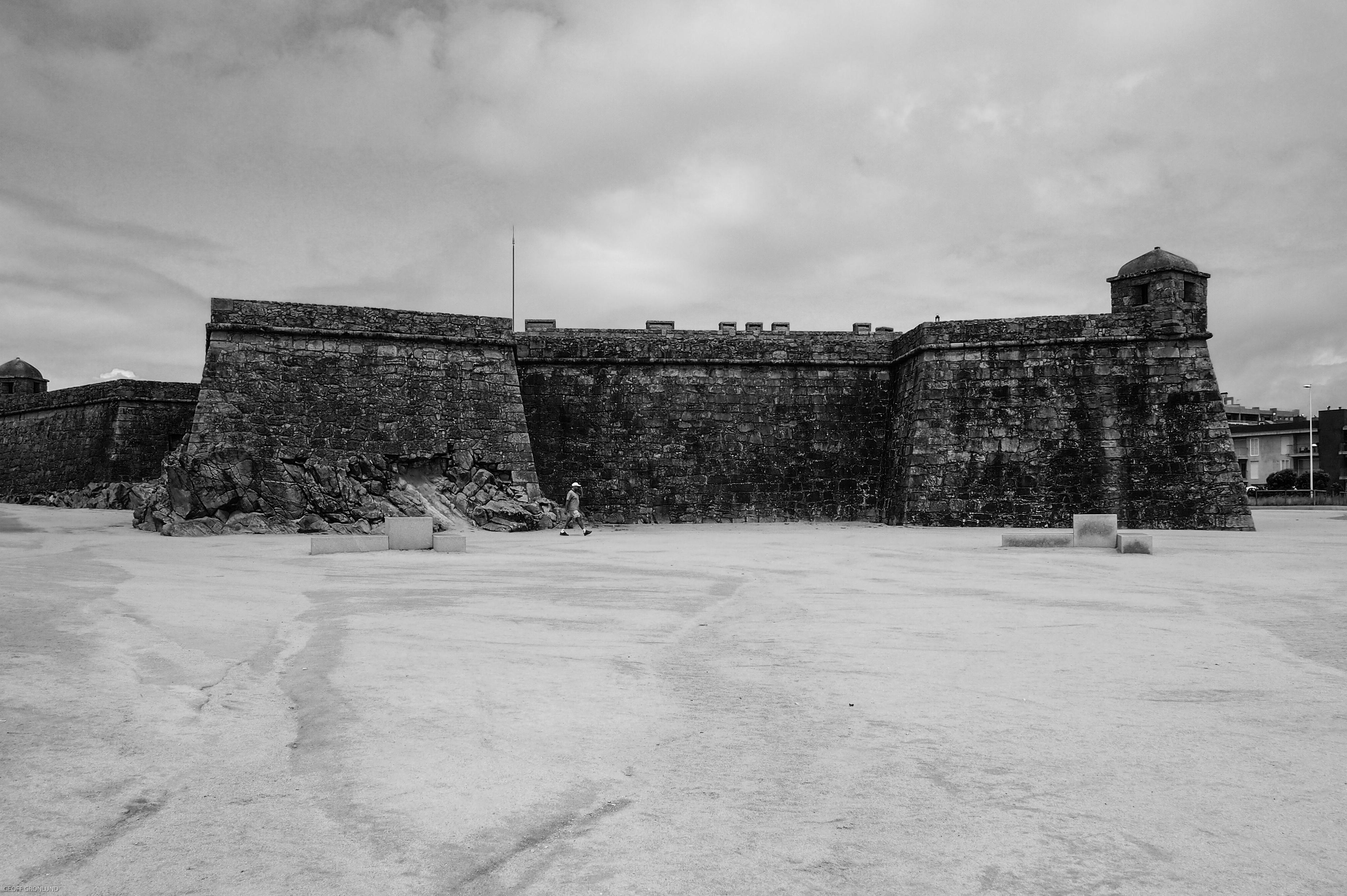 Forte São João Vila do Conte, Portugal
