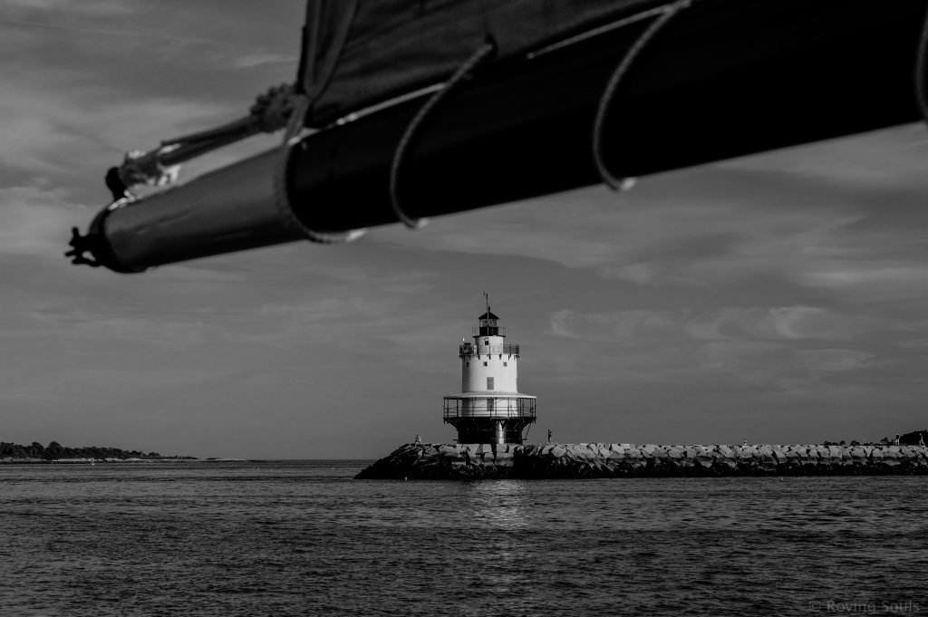 Spring Point Ledge Lighthouse Portland, Maine, USA July 24, 2016